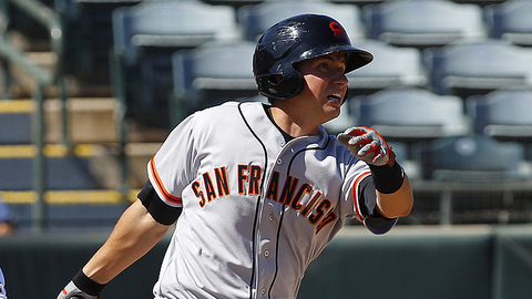 Joe Panik ranked third in the California League with 159 hits this season.