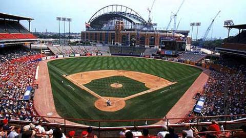The majority of the Major League games I have seen have been played in Milwaukee County Stadium.