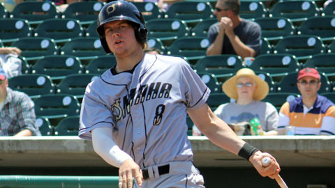Wil Myers collected a MiLB-leading 313 total bases for NW Arkansas and Omaha.
