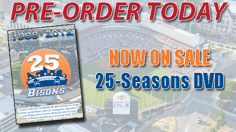 Pre-Order your 25 Seasons DVD today!