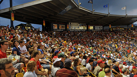 Reading led the Eastern League in attendance at 6,368 per game.