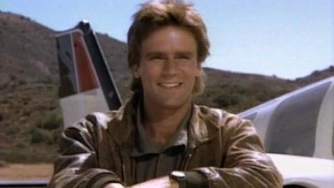 MacGyver had a baseball episode? Yes. Just about everyone has a baseball episode.