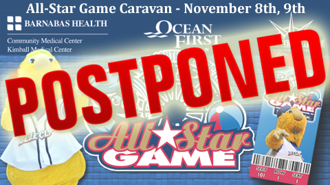 The All-Star Game Caravan scheduled for November 8th and 9th has been postponed.