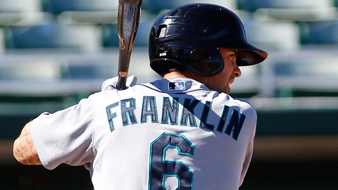 Nick Franklin leads the Arizona Fall League with 19 RBIs in 14 games.