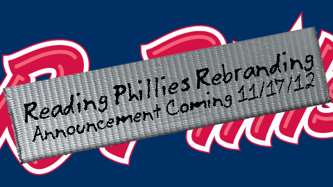 Along with Brandiose, the Reading Phillies will be undergoing a rebranding over the next month.