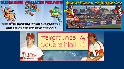 Baseballtown will be home to three relaunched group buffet areas for the 2013 season.