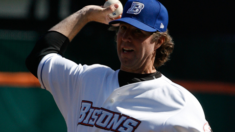Dickey was 4-2 with a 2.23ERA in eight starts with the Bisons in 2010.
