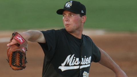 Robbie Erlin went 3-1 with a 2.92 ERA in 11 Double-A starts.