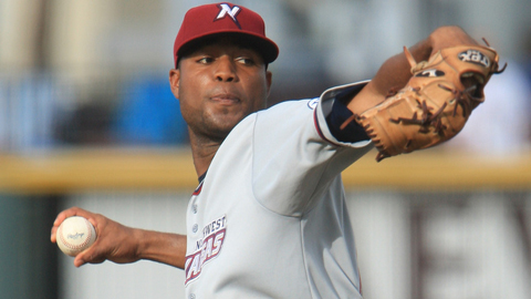 Sugar Ray Marimon was 3-6 with a 4.59 ERA in 12 Double-A starts.