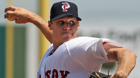 Billy Buckner went 8-6 in 17 starts with a 3.91 era for the PawSox in 2012.