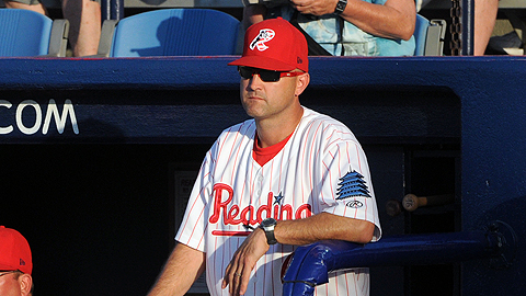 Dusty Wathan is returning in 2013 for his second straight season as Fightin Phils skipper.