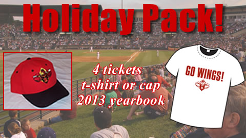 The Red Wings Holiday Pack