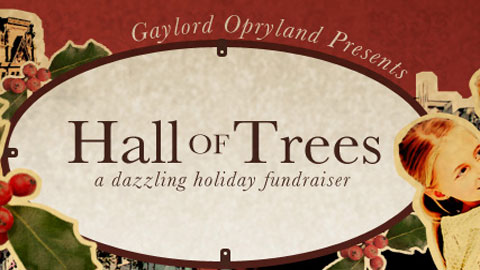 A baseball-themed holiday tree will benefit Nashville and the surrounding community.