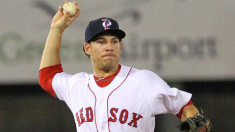 Danny Valencia batted .306 in 13 games with the Pawtucket Red Sox in 2012.