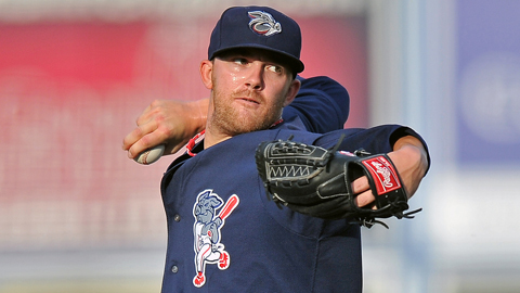 Tyler Cloyd went 15-1 between Triple-A Lehigh Valley and Double-A Reading.