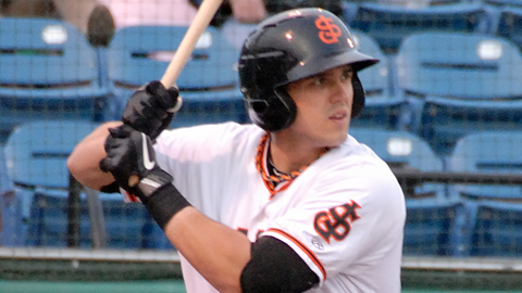 Adam Duvall posted an .814 OPS in the California League in 2012.
