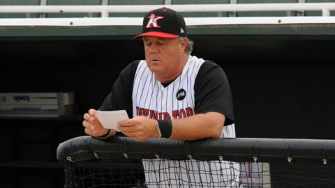 Tommy Thompson managed the Intimidators in 2011.