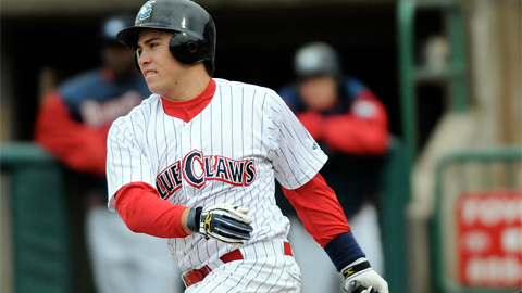 d'Arnaud hit 13 home runs for the 2009 SAL champion BlueClaws.