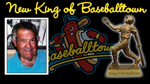 Dr. Richard Flannery will be crowned King of Baseballtown on Jan. 22 at Reading Crowne Plaza.