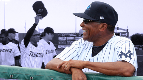 Tony Franklin recorded his 1,000th career win in 2012 and was named EL Manager of the Year.