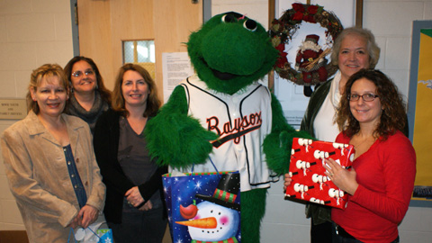 Bowie partnered with three local groups to provide food, coats and gifts to local families.