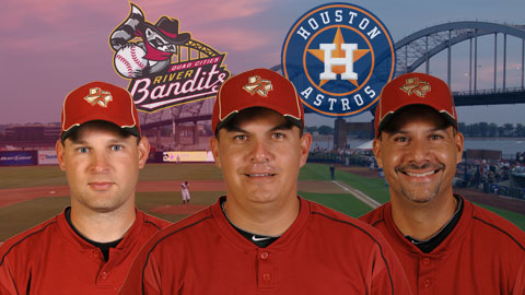 Omar Lopez's first year leading the Bandits will be his sixth as a manager in the Astros organization.