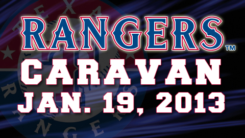 Current Rangers players will be on hand for autographs with fans on January 19.