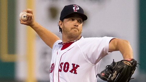 Steven Wright held hitters to a .213 average during the 2012 season.