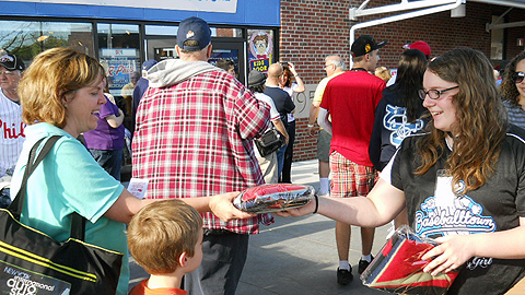 The Reading Fightin Phils will be hiring for a variety of positions on Jan. 26 including Diamond Girl.