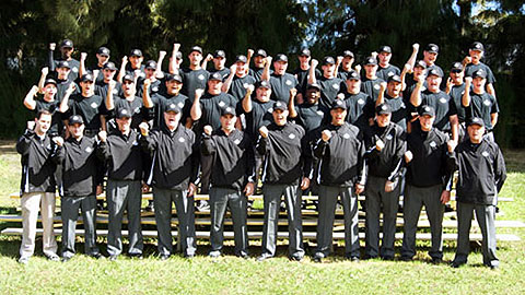 The second Umpire School class will be twice the size of this graduating group from 2012.