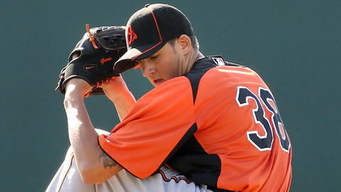 Kevin Gausman was a semifinalist for the 2012 Golden Spikes Award.
