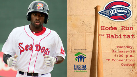 Jackie Bradley Jr. and Ben Crockett are the featured guests for the events.