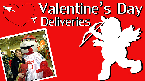 The Crazy Hot Dog Vendor and Screwball will once again be delivering treats on Valentine's Day.