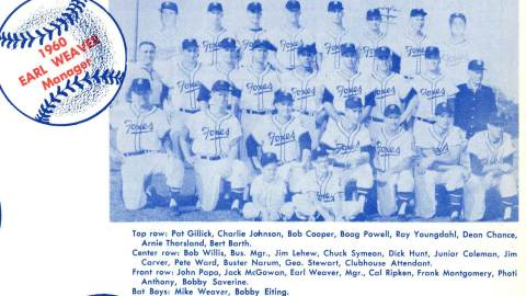 The 1960 Fox Cities Foxes.