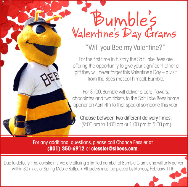 Bumble's Valentine's Day Grams