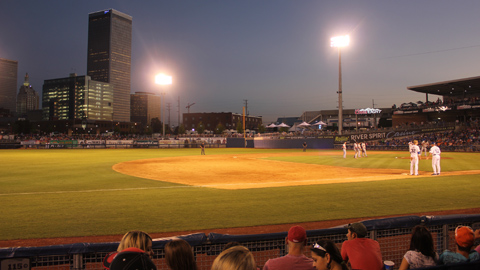McElroy Make-A-Difference Mondays will provide nights out at ONEOK Field in downtown Tulsa for needy kids and families this season.