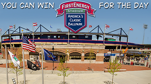 Any fan that purchases a ticket on Wed., February 13 wil be entered to win the ballpark for a day.