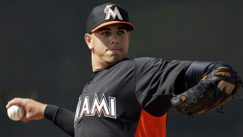Jose Fernandez was 14-1 with a 1.75 ERA and 158 strikeouts in 134 innings last year.