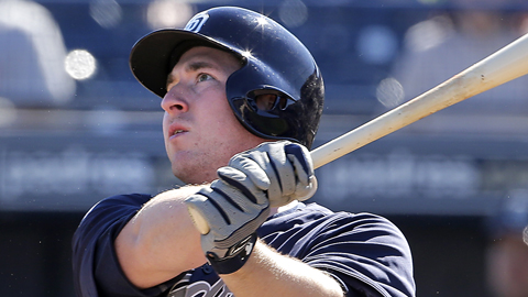 Jedd Gyorko ranked fourth in the Pacific Coast League with 24 homers last season.
