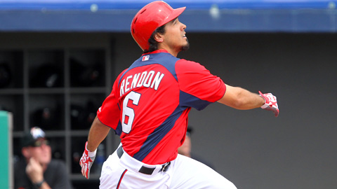 Anthony Rendon slugged .489 in 43 games across four levels last season.
