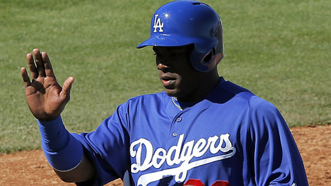 Yasiel Puig is 6-for-16 with four runs scored through seven Cactus League games.