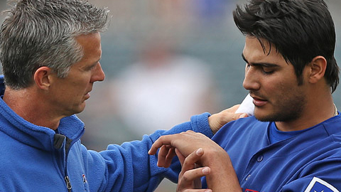 Martin Perez had been in the running for the fifth starting spot in the Rangers rotation.