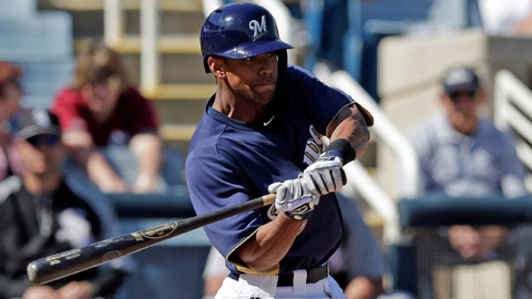 Outfield prospect Khris Davis posted a 1.055 OPS in 82 Minor League games in 2012.