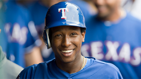 Jurickson Profar batted .176 in nine Major League games in 2012.