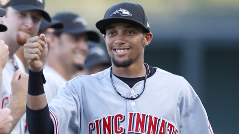 Billy Hamilton stole a Minor League-best 155 bases in 2012.