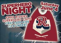 Riders SuperHero Cape Giveaway