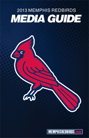 2013 Redbirds Media Guide Cover