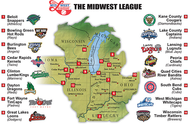 Worksheet. Midwest League  Peoria Chiefs About