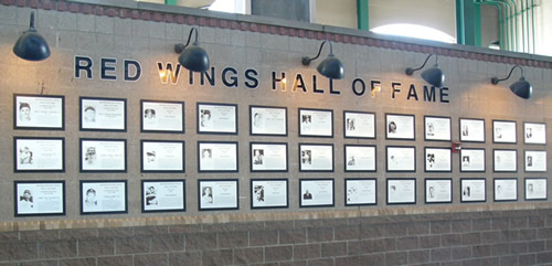 Red Wings Hall of Fame - 1st base concourse
