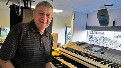 Stadium Organist Fred Costello